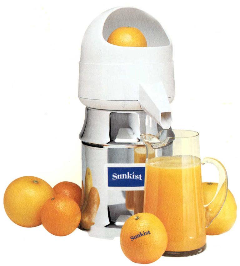 Citrus und Orangenpressen